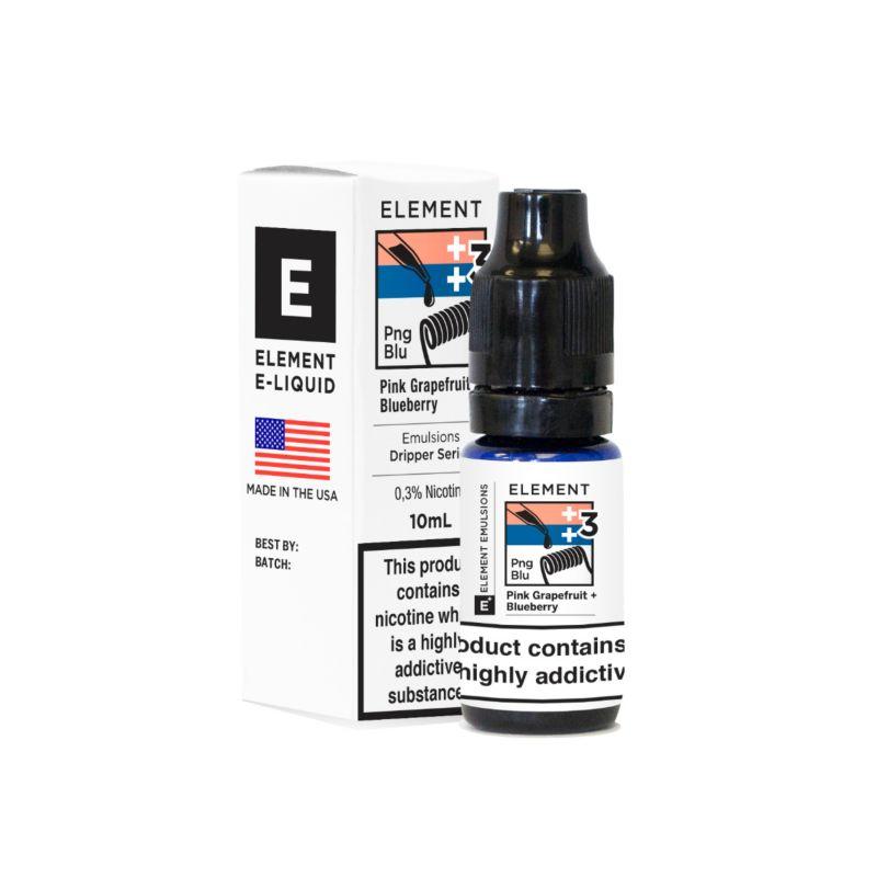 Pink Grapefruit Blueberry - Element Emulsion E-Liquid