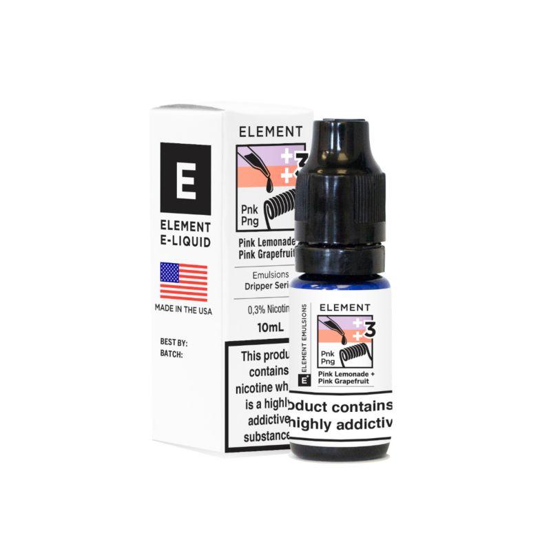 Pink Lemonade and Grapefruit | Element Emulsion E-Liquid