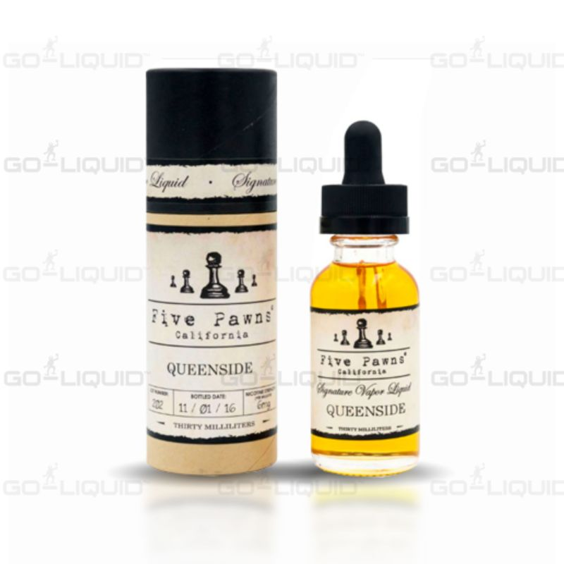Queenside | ShortFill E-Liquid by Five Pawns