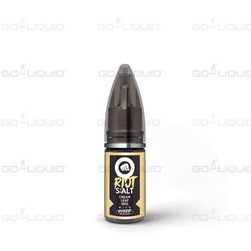 Cream Leaf   10ml Riot Squad Hybrid Salts