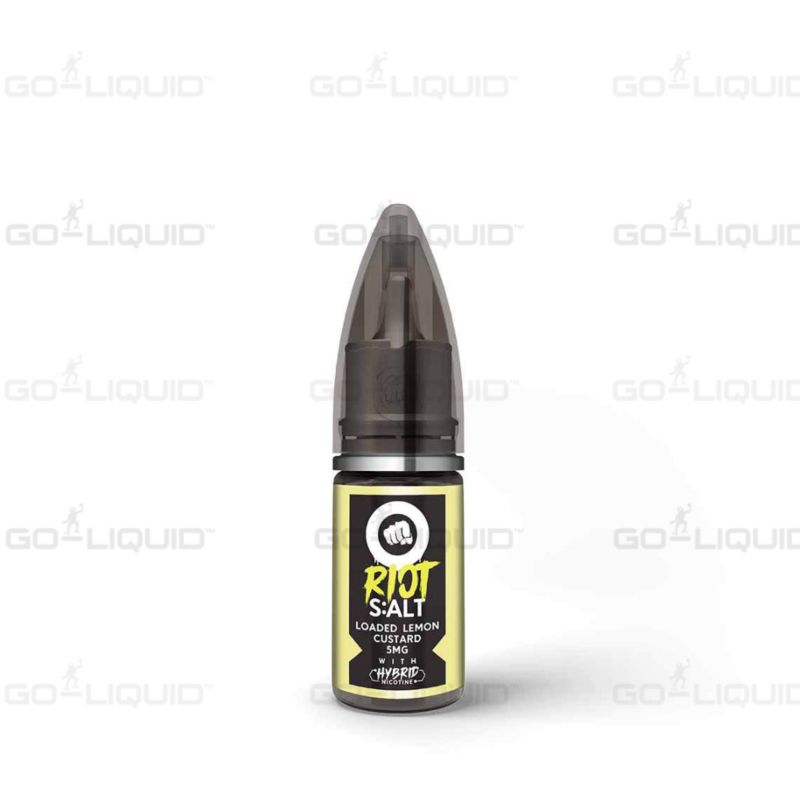 Loaded Lemon Custard | 10ml Riot Squad Hybrid Salts