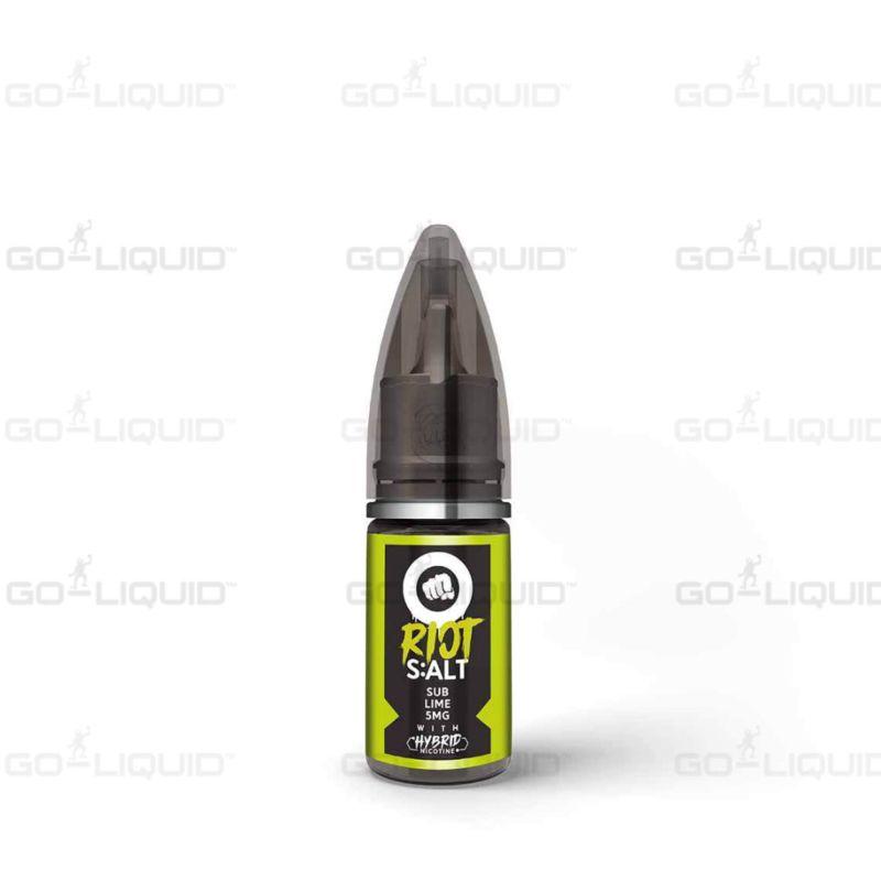 Sub Lime | 10ml Riot Squad hybrid Salts