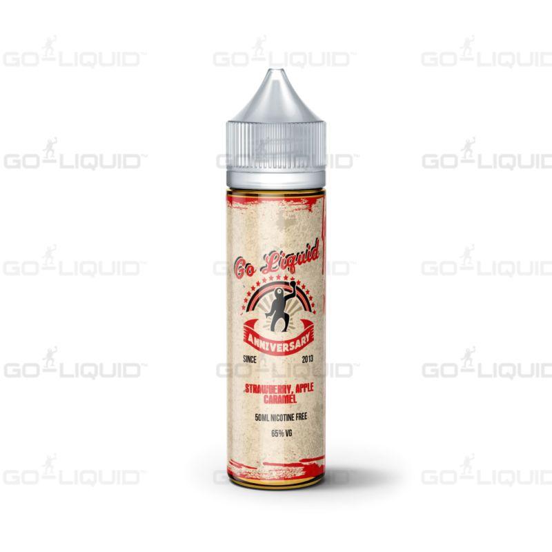 Strawberry Apple Caramel | 50+10ml Anniversary Shortfill