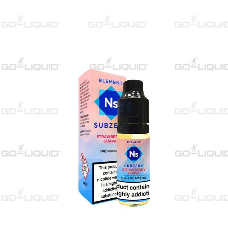 Strawberry Guava | 10ml Element NS20 E-Liquid