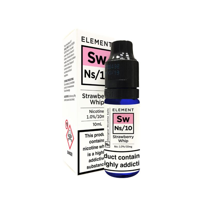 Strawberry Whip Element NS20 E-Liquid