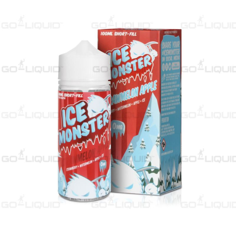 Strawmelon Apple Ice Monster E-Liquid