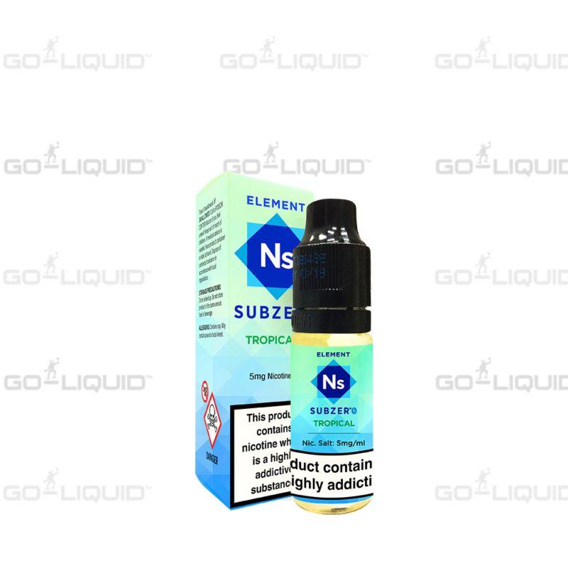 Tropical | 10ml Element NS20 E-Liquid