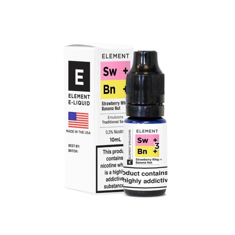 Strawberry Whip Banana Nut  | Element Emulsion 50/50