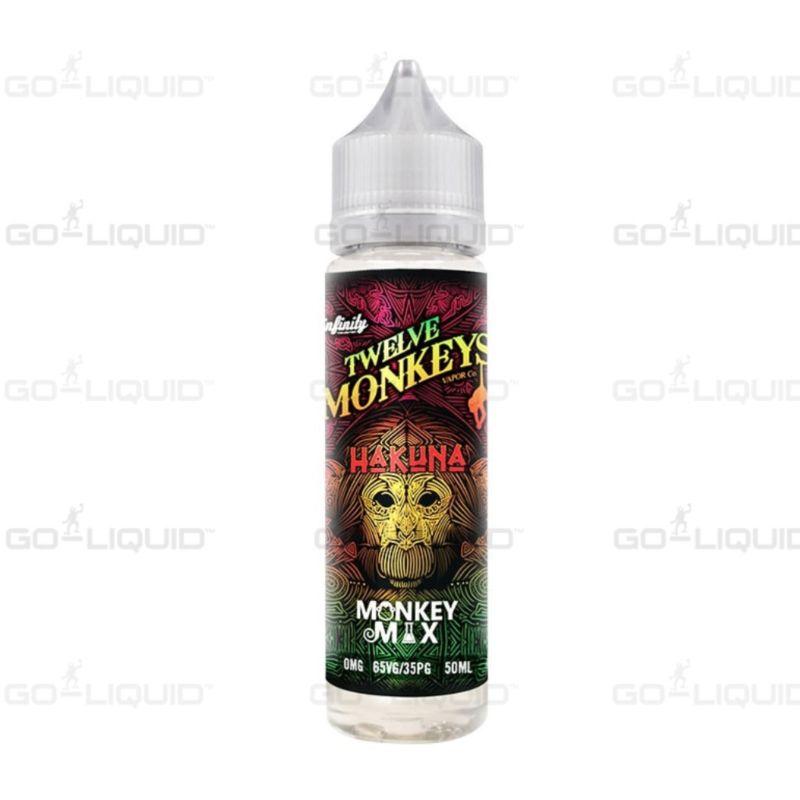 Hakuna - 50ml Shortfill Twelve Monkeys E-Liquid