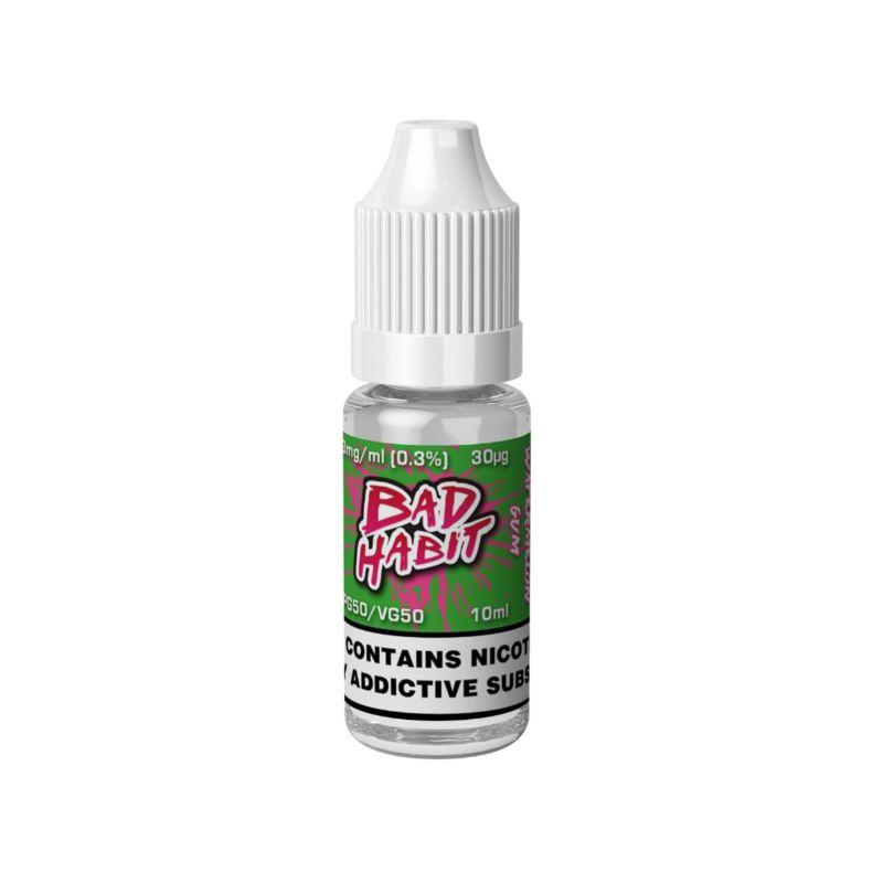 Watermelon Gum - 10ml Bad Habit E-Liquid