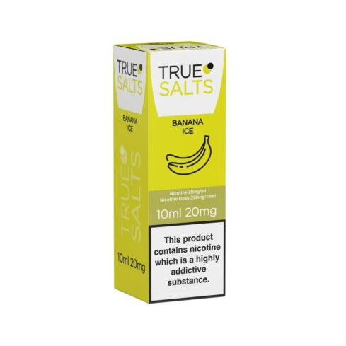 Banana Ice True Salts 10ml