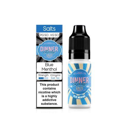 Blue Menthol | 10ml Dinner Lady Nic Salts