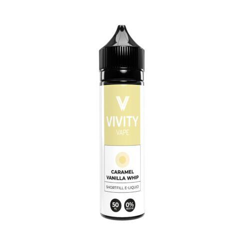 Caramel Vanilla Whip | 50ml Vivity Shortfill E-Liquid