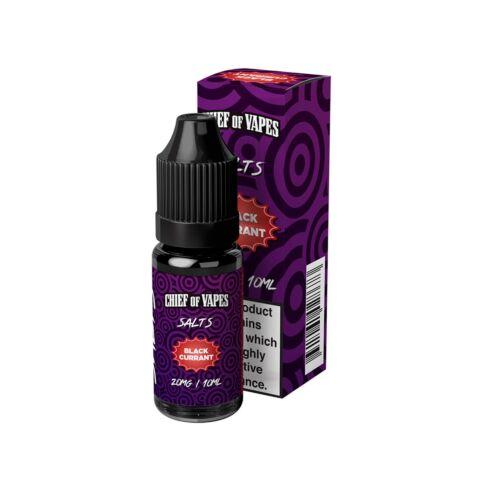 Blackcurrant | 10ml Chief of Vapes Salts E-Liquid