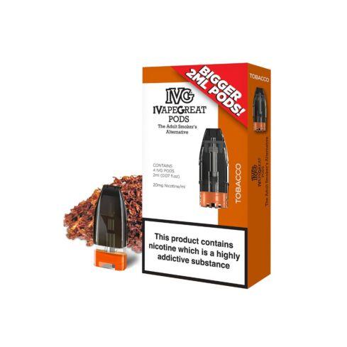 IVG Tobacco Nicotine Salt Pods