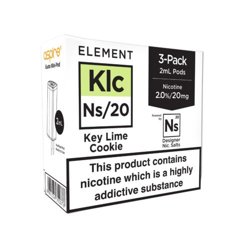 Element Keylime Cookie NS20 E-Liquid Pods