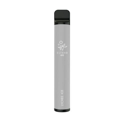 Lychee Ice Elfbar 600 Disposable Vape Bar