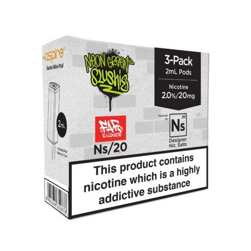 Element Neon Green Slushie NS20 E-Liquid Pods