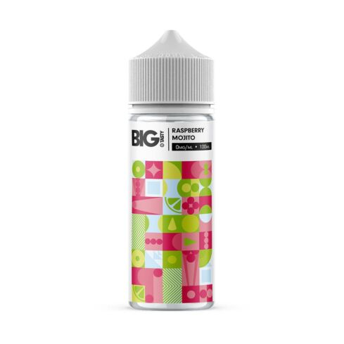 Juiced Raspberry Mojito 100ml Big Tasty Shortfill