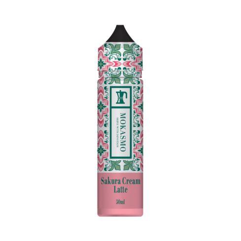 Sakura Cream Latte | 50ml Mokasmo Shortfill E-Liquid