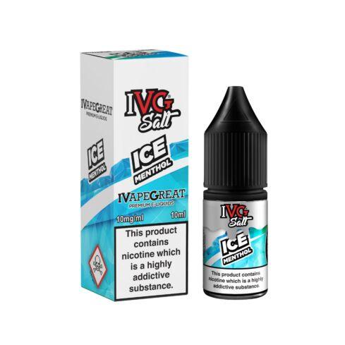 Ice Menthol | 10ml IVG Salt E-Liquid