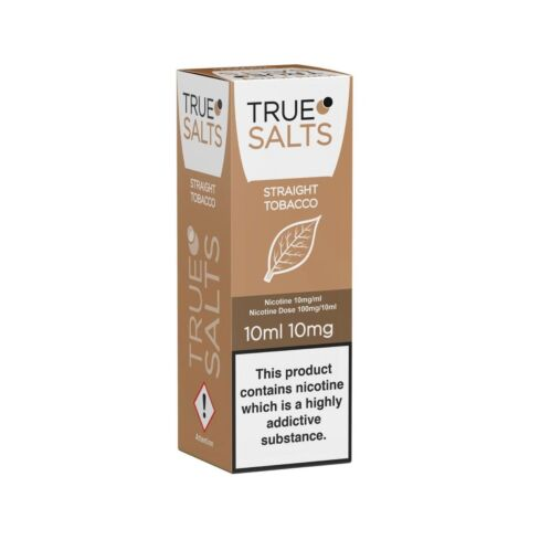 Straight Tobacco 10ml True Salts