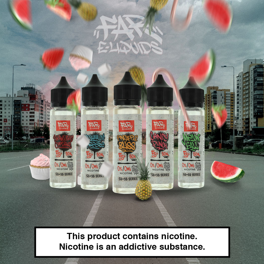 5 Must Try Flavours in Element E-Liquid's FAR Range