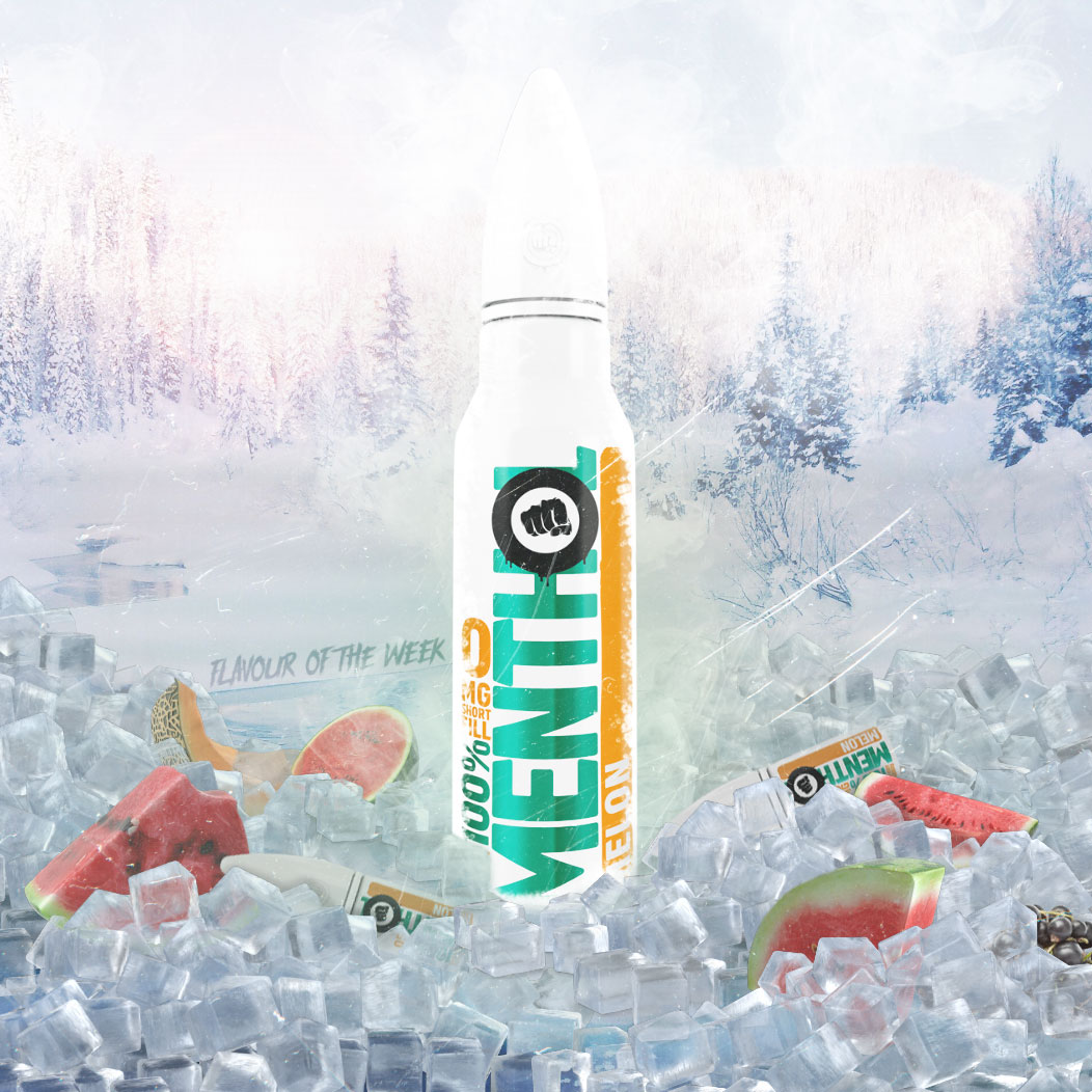 Flavour of the Week - Menthol Melon by Riot Squad E-Liquid