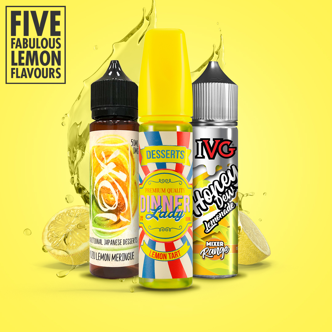 Five Zesty Lemon Flavoured E-Liquids to try this Summer