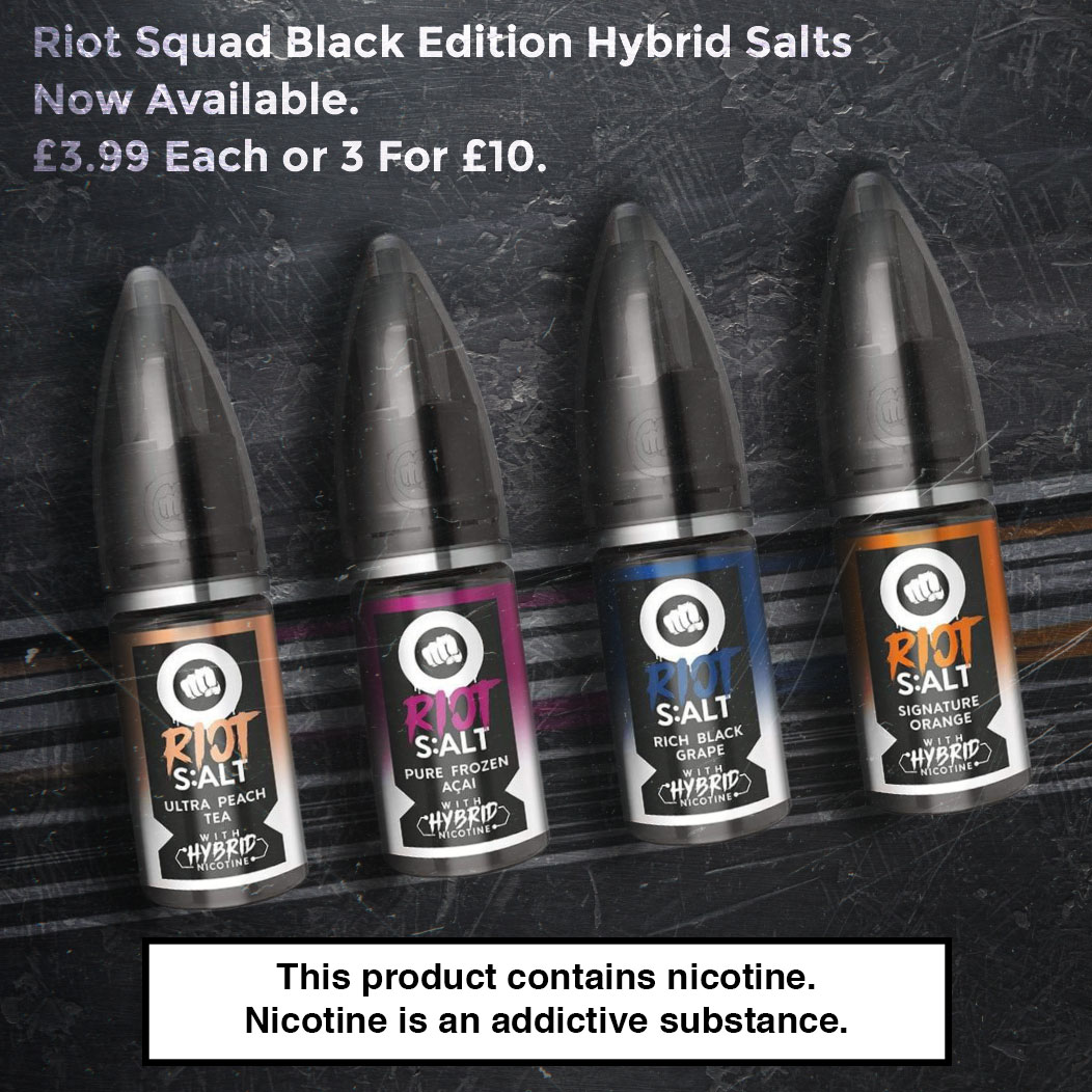 Riot Squad Black Edition - Hybrid Salts Review