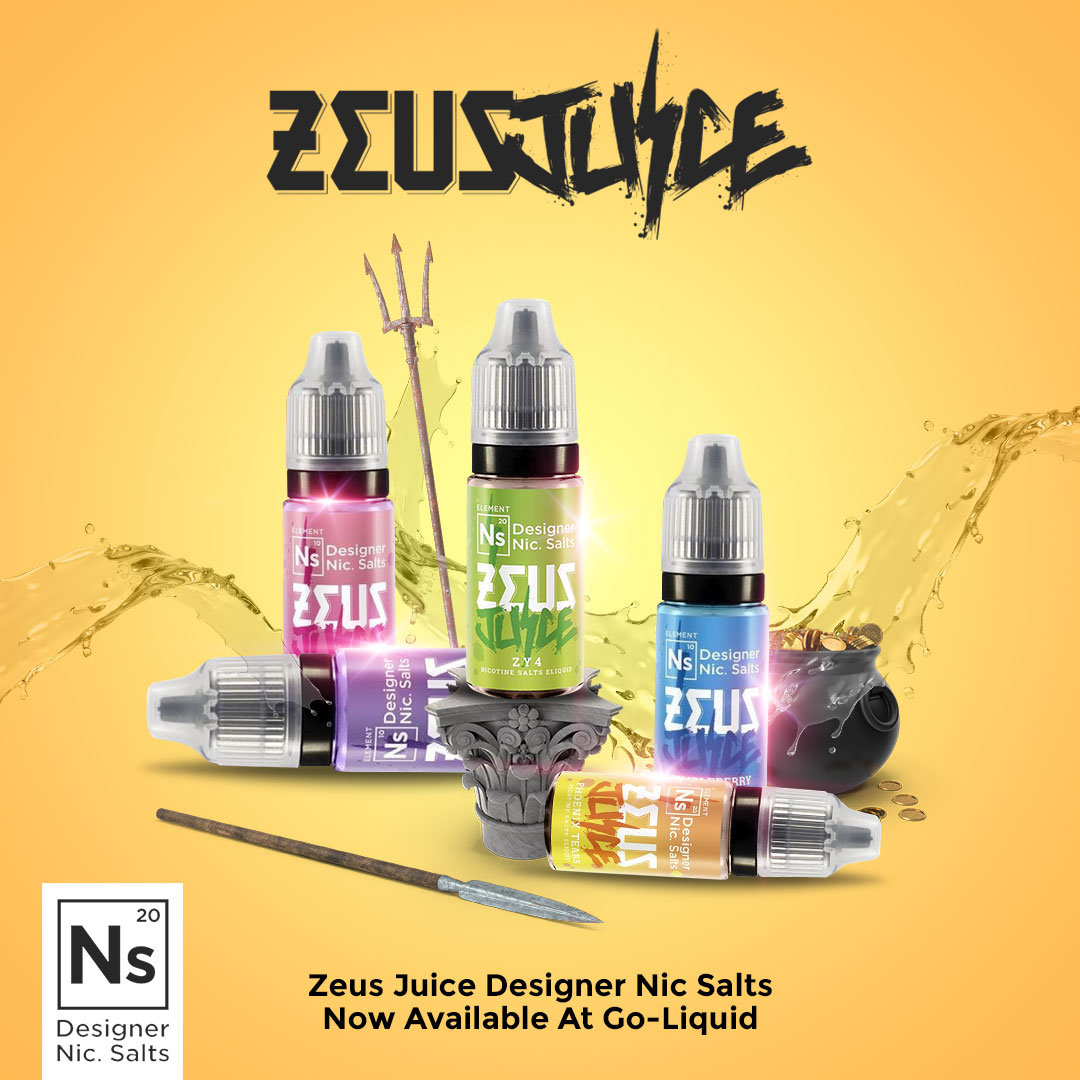 The Zeus Juice Nic Salts Range