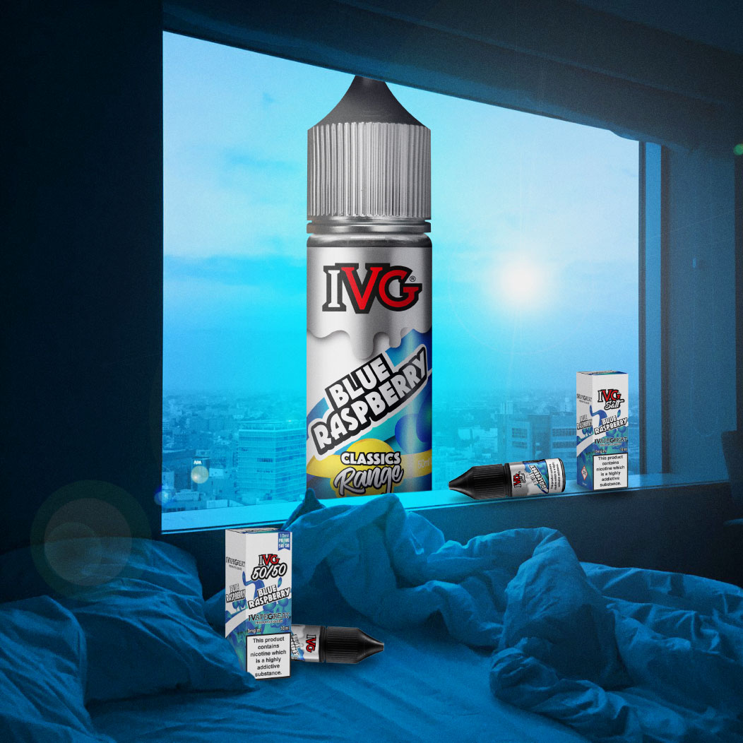 Flavour of the Week - Blue Raspberry by IVG