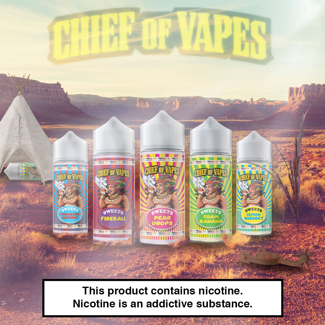 Chief of Vapes Sweets Range