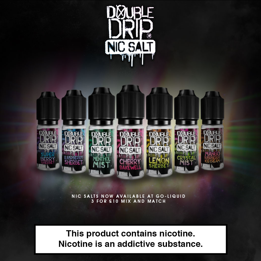 Double Drip Nic Salts Flavour Showcase