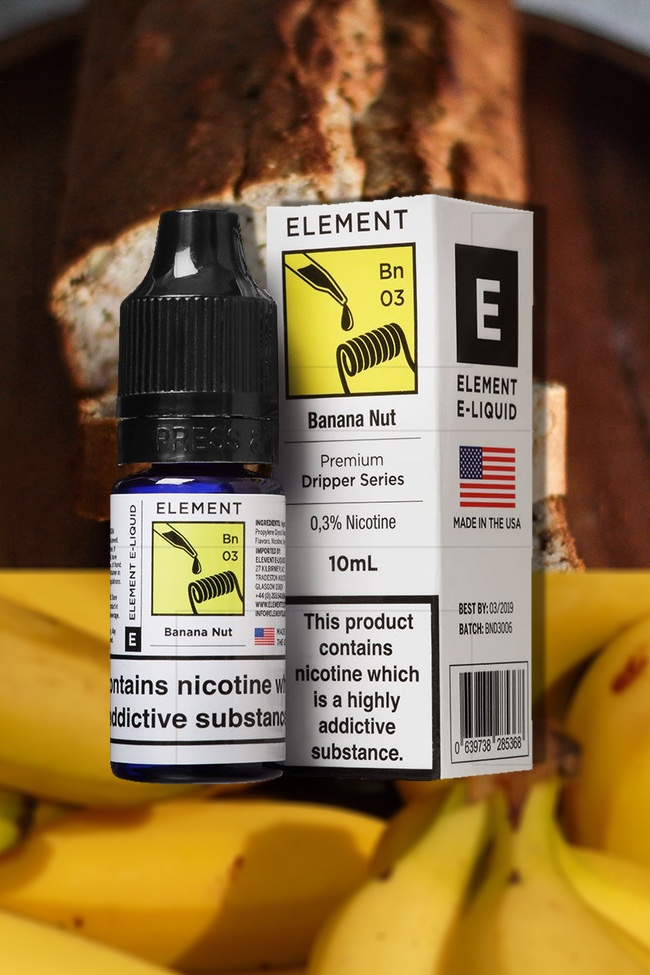 Element E-Liquid Banana Nut