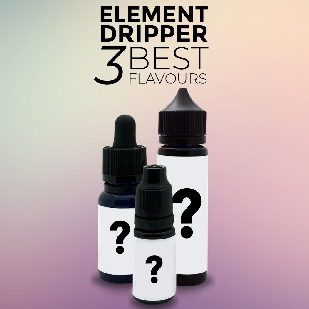 The 3 Best Flavours in Element's Dripper Range