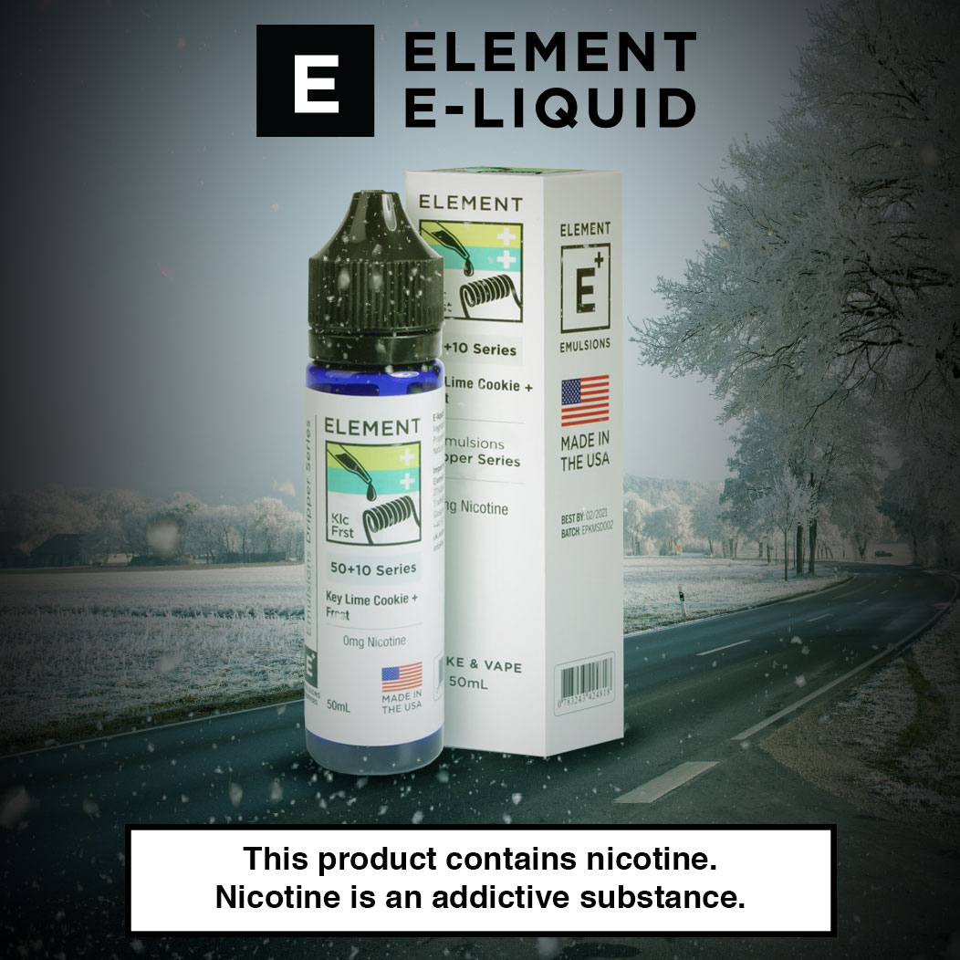 Element Emulsion Key Lime Cookie - Flavour Review