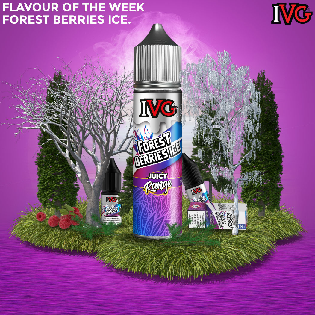 Flavour of the Week - Forest Berries Ice by IVG