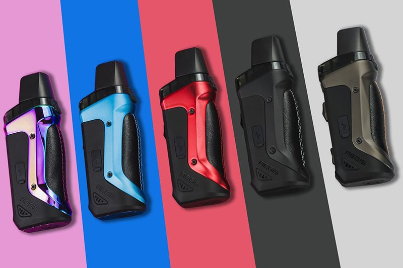 The Geek Vape Aegis Boost Pod Kit