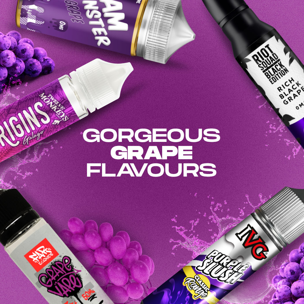 Top 5 Flavours: The Grape Escape