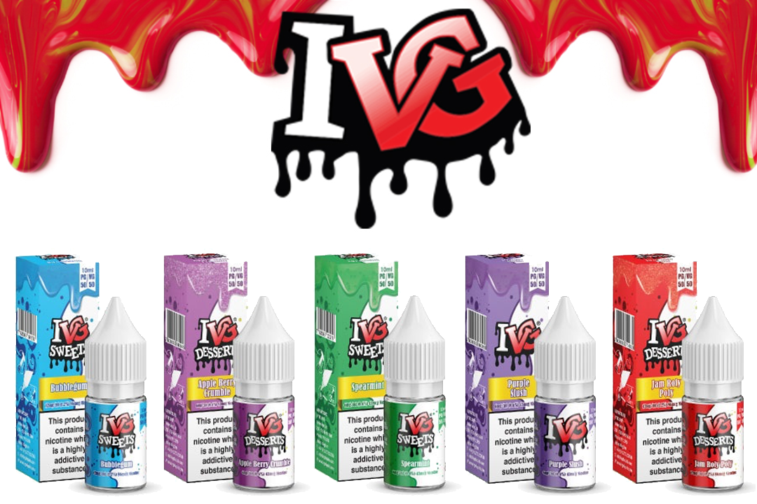 IVG 10ml 50/50 E-Liquids
