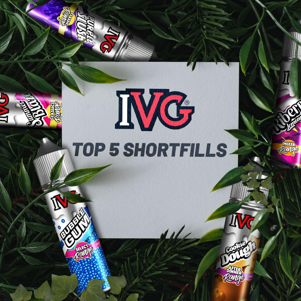 The 5 Best IVG E-Liquid Shortfill Flavours