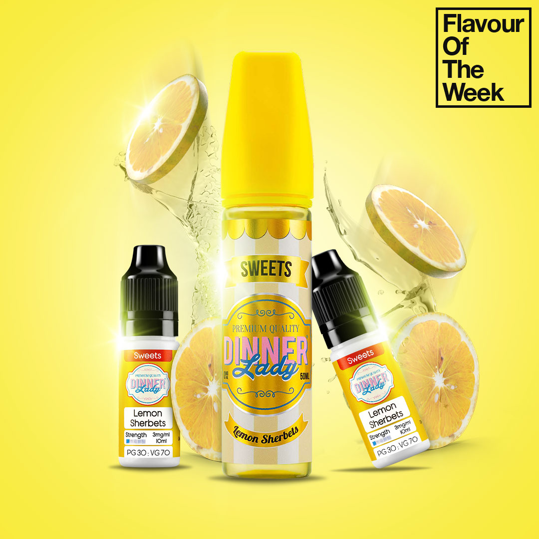 Flavour of the Week - Lemon Sherbets by Dinner Lady