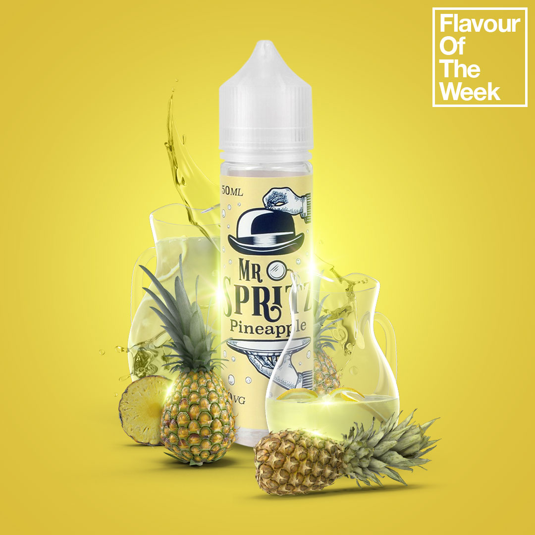 Flavour of the Week - Mr Spritz Pineapple