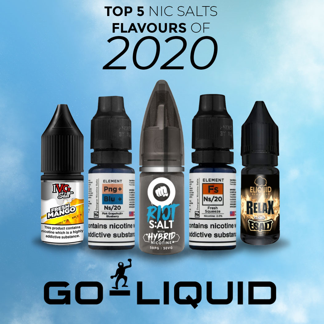 The 5 Best Nicotine Salts Flavours Of 2020