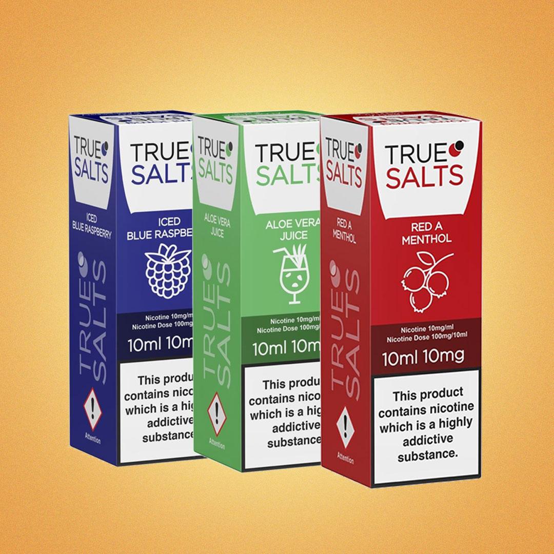 True Salts E-Liquid By IVG