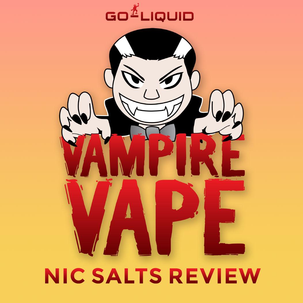 Vampire Vape Nic Salts Review