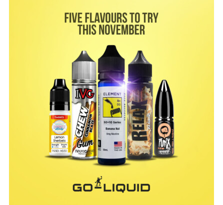 5 Of The Best E-Liquids To Try This November