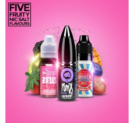 Our 5 Favourite Fruit Flavoured Nic Salts