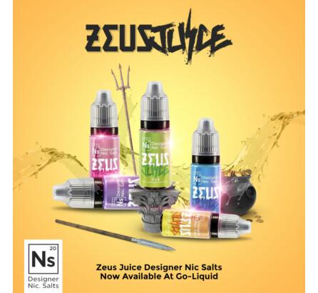 The Zeus Juice Nic Salts Range